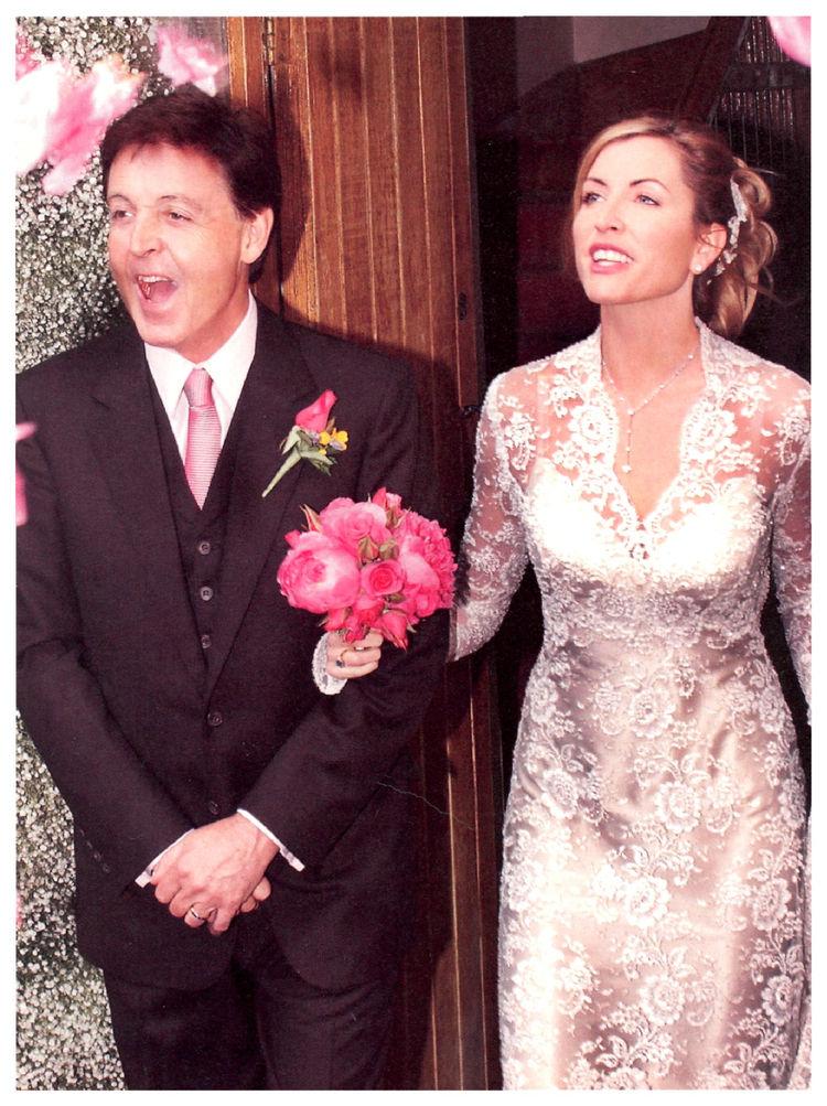 Pol Makartni sa suprugom Heder