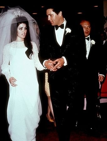 Prisila i Elvis Prisli na venčanju