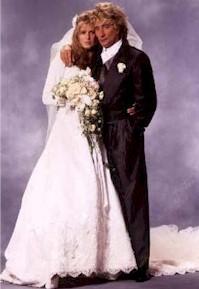 Rod Stjuart sa suprugom Rakel