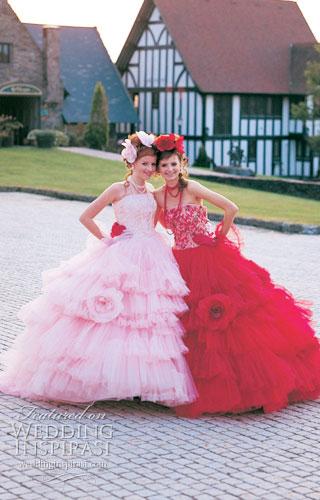 pink-crveno-haljine