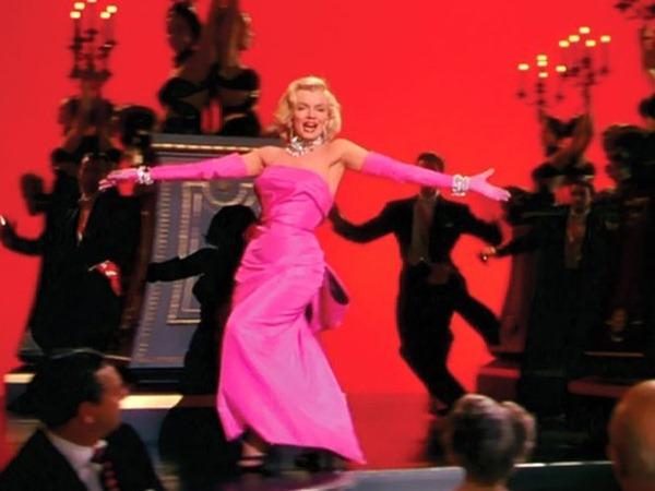 marilyn-monroe-pink-haljina