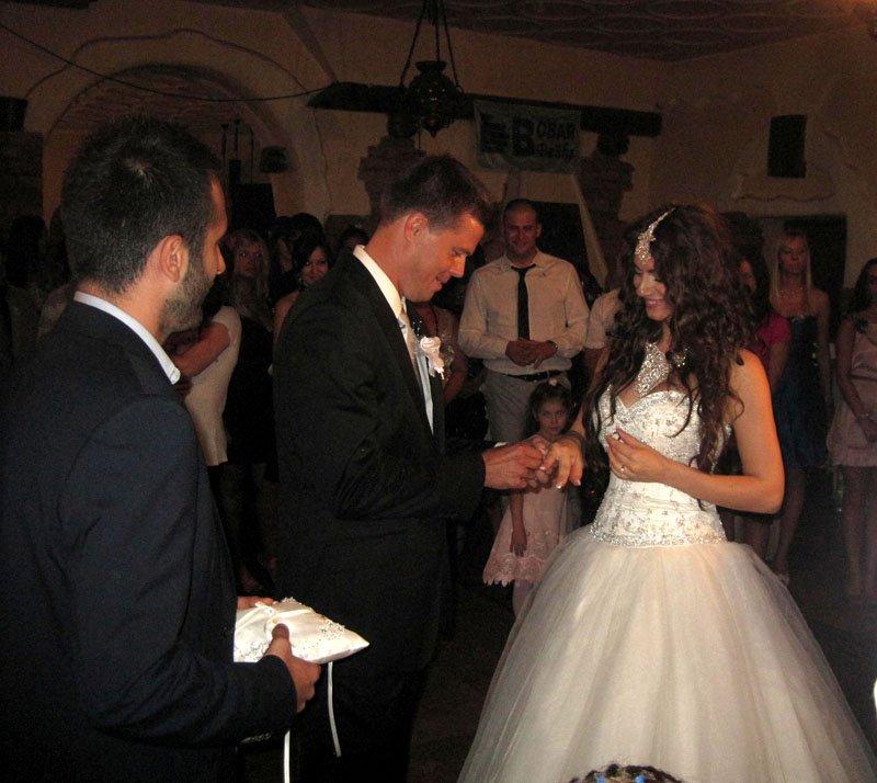 Venčanje Dragane i Aleksandra