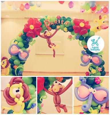 dekoracija proslava baloni