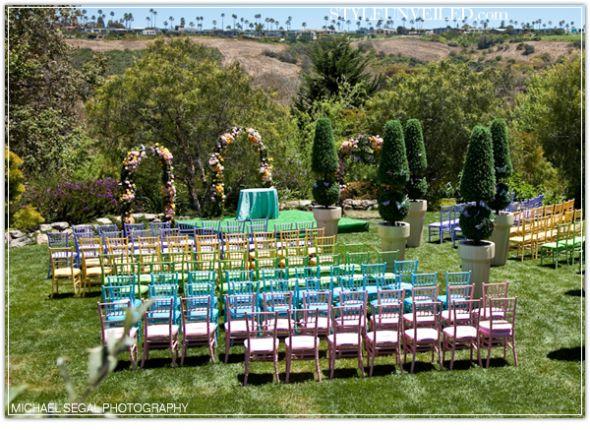 šarene stolice za goste