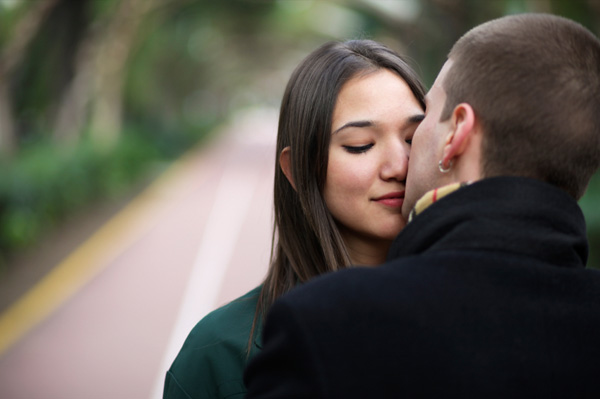 zaljubljeni mladi par