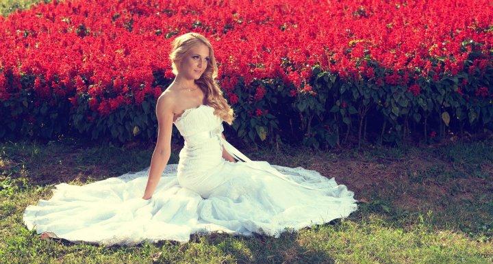 Jelena nakon venčanja