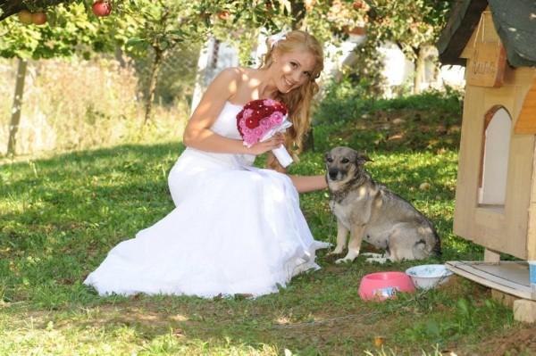 Jelena i ljubimac Nina