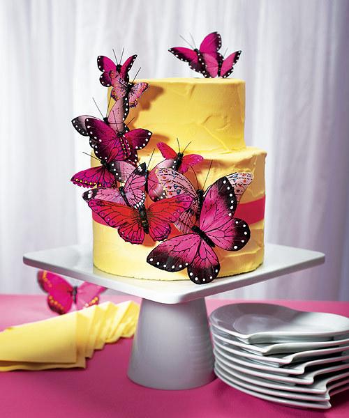 mladenačka torta sa leptirićima