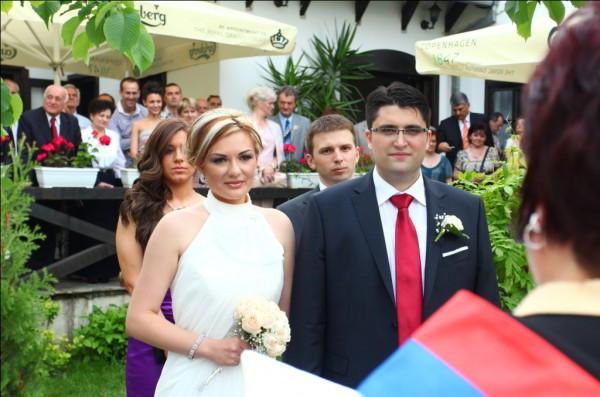 Tijana i Nikola pred matičarom