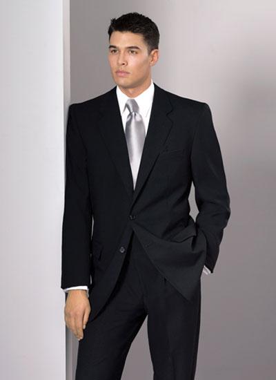 crno muško odelo
