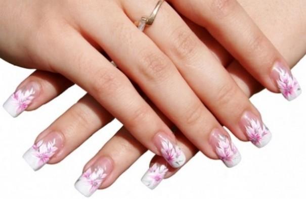 cvetni nail art