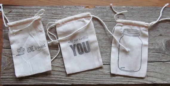kesice za poklončiće od prirodnog materijala
