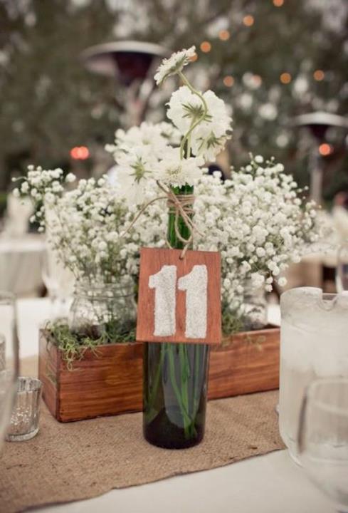 dekoracija za vencanje gipsofila