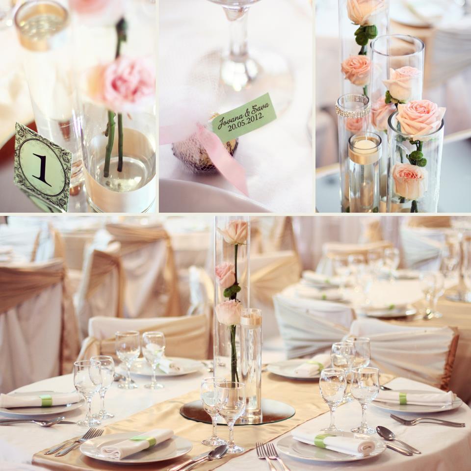 dekoracija na venčanju