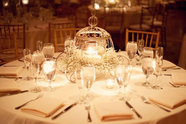dekoracija za vencanje gipsofilom