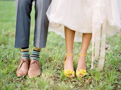 cipele za mladu i mladozenju
