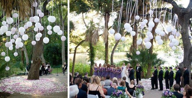 vencanje u dvoristu na otvorenom