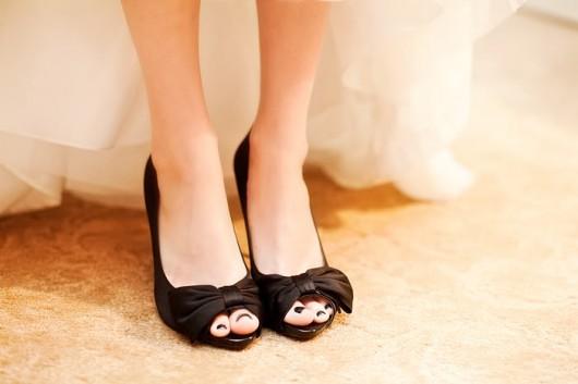 čokoladno braon cipele za mladu