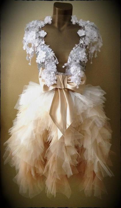 haljina Boudoir Cream Dress