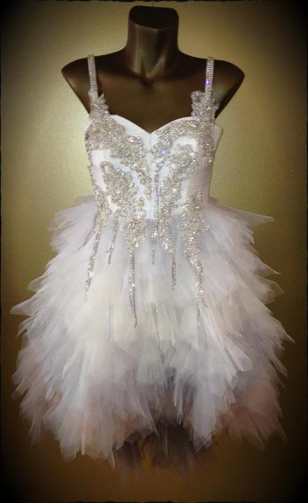 haljina Boudoir Diamond Drops Dress