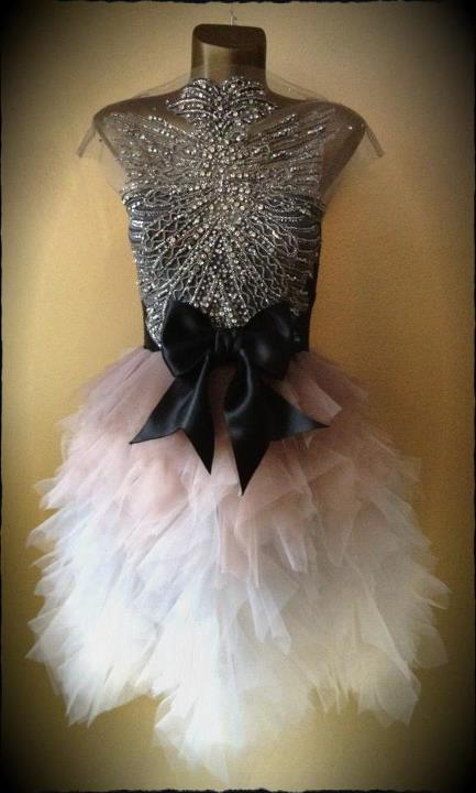 haljina Boudoir Diamond Faded Couture