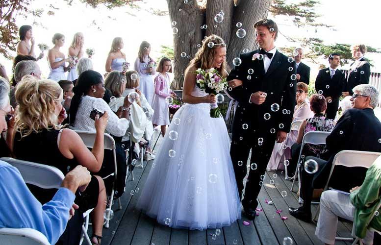 balončići na venčanju