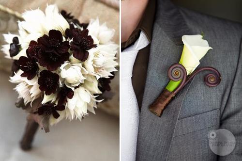dekoracija za venčanje sa temom čokolada
