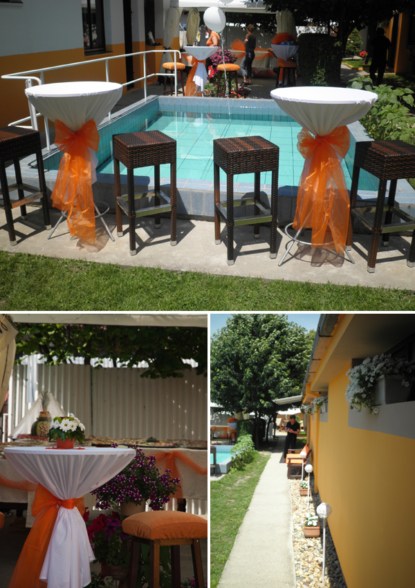 izgled dvorista pred svadbu