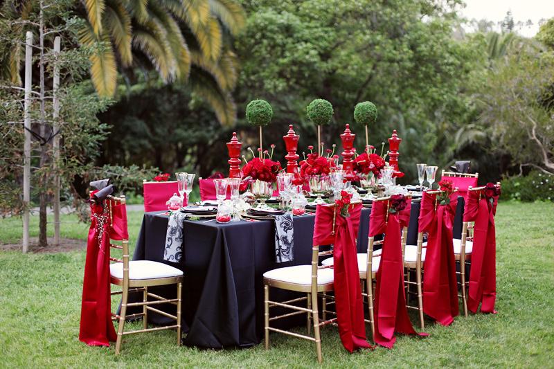 tematsko vencanje dekoracija stola