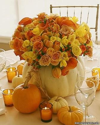 dekoracija jesenjeg venčanja