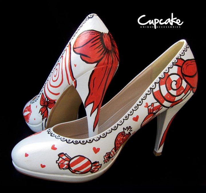 cupcake cipele za mladu