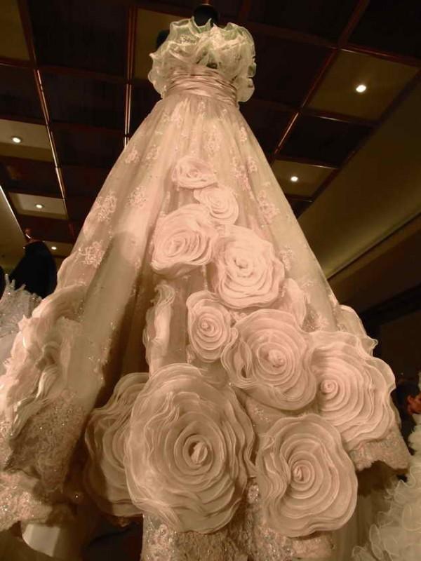 venčanica sa ružicama