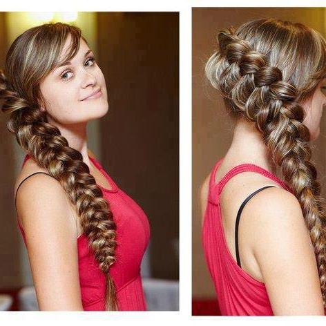 romanticna frizura sa pletenicama za vencanje ili izlazak