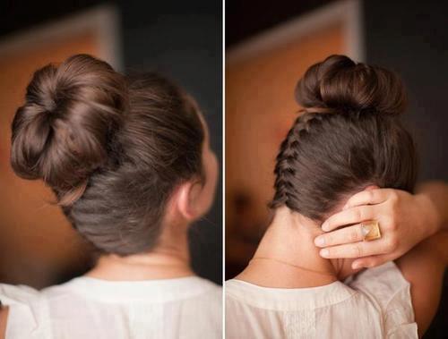svecana frizura sa pletenicama za vencanje ili izlazak