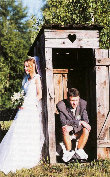 smešna fotografija sa venčanja