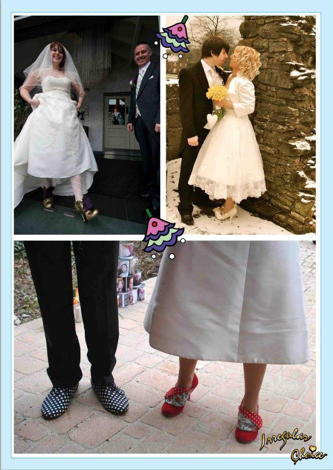 Irregular Choice cipele za mladu, mladenci, vencanica