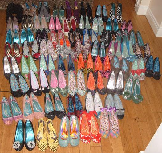 Irregular Choice, privatna kolekcija obuće