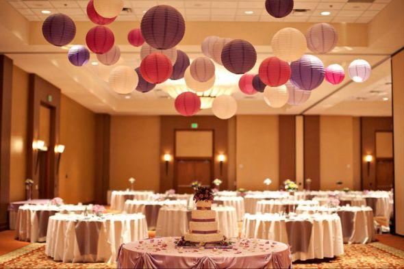 dekoracija venčanja sa lampionima