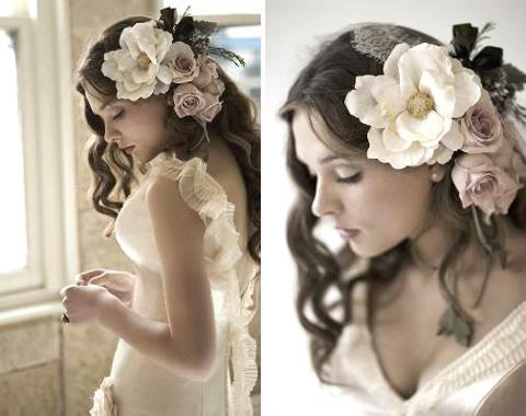 puštena kosa na venčanju