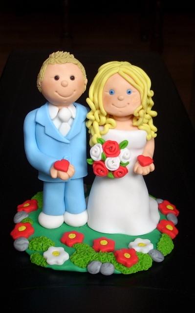 figure za mladenačku tortu