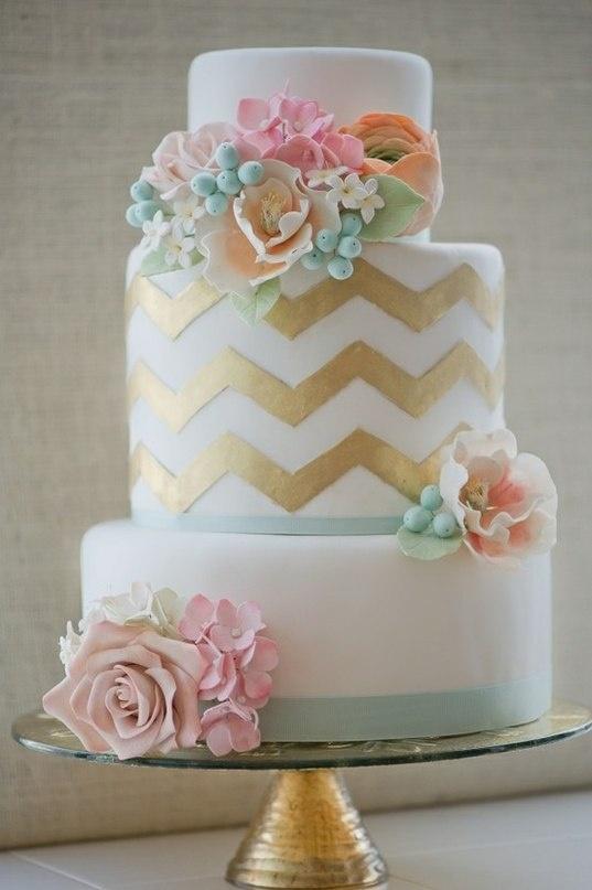 zlatna mladenačka torta
