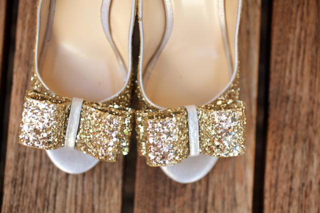 zlatne glitter cipele