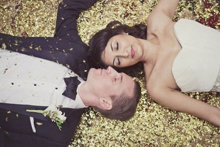 venčanje u zlatnoj boji