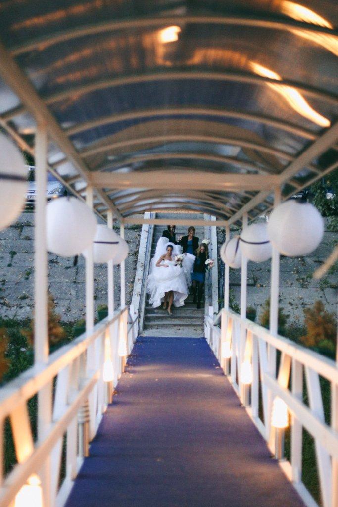 dekoracija venčanja papirnim lampionima