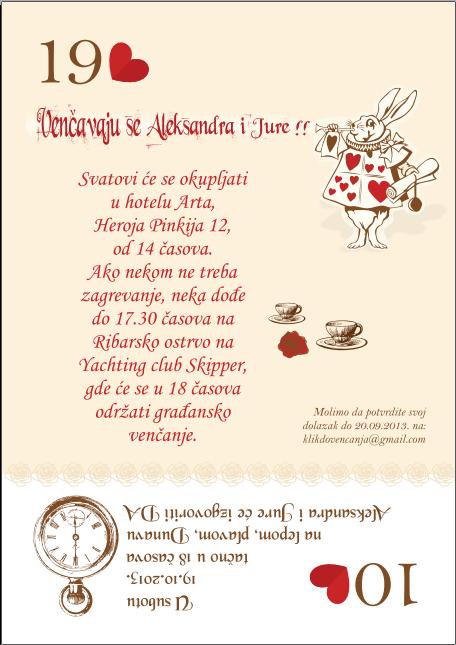 pozivnica za svadbu
