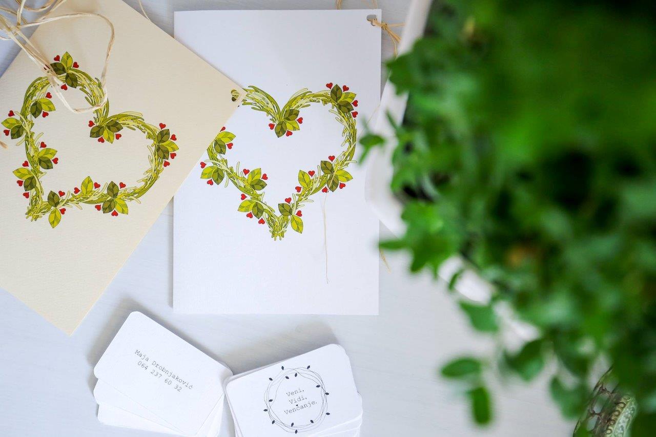 unikatne pozivnice za vencanje