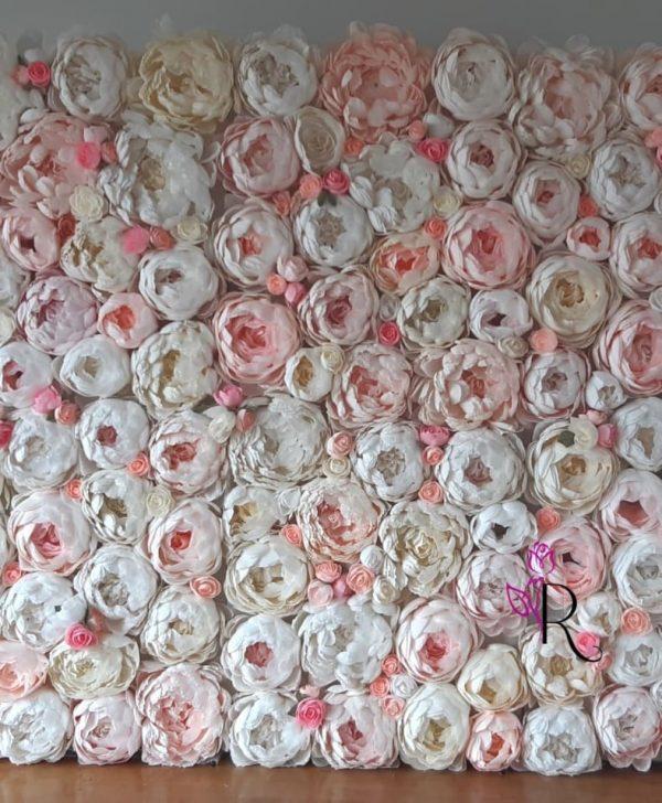cvetni zid za vencanje