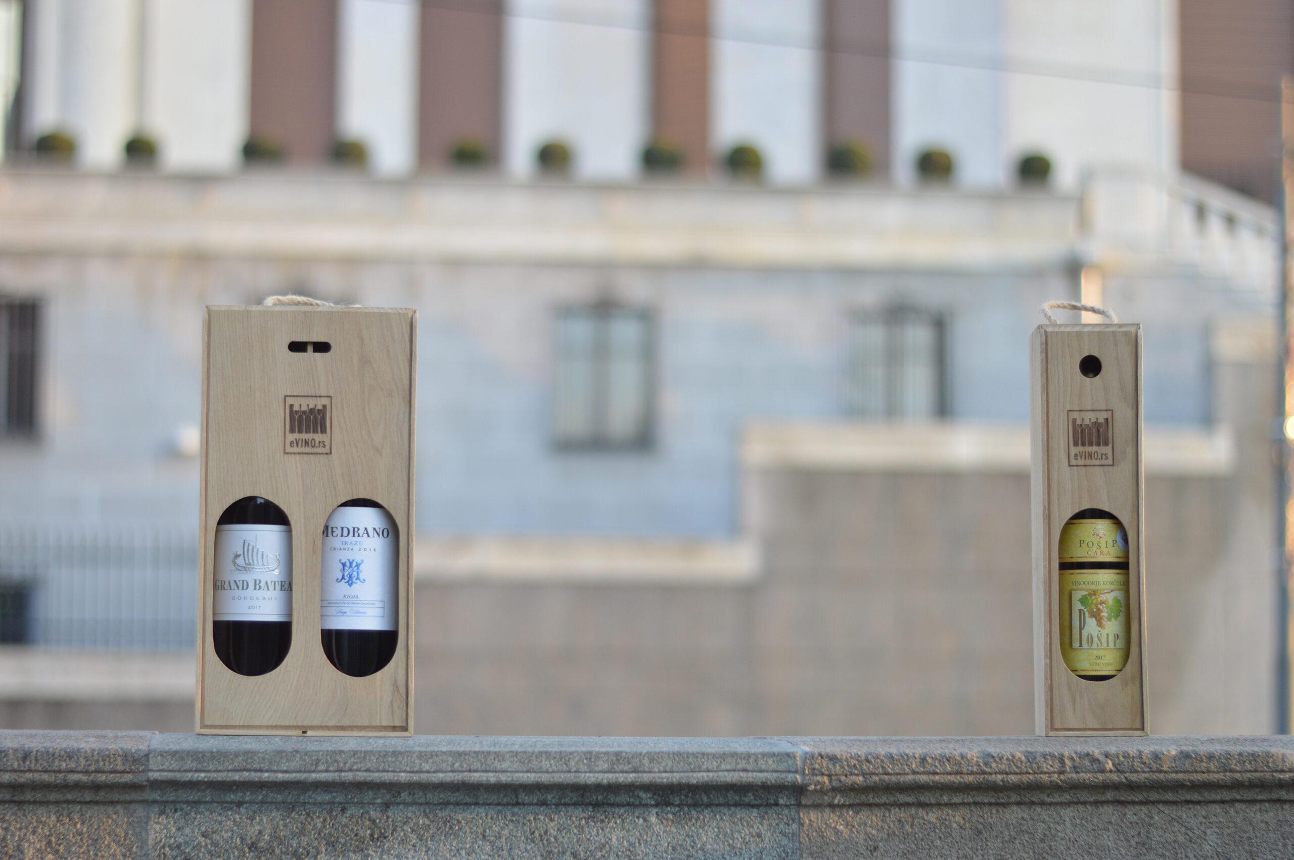 poklon pakovanja za vino