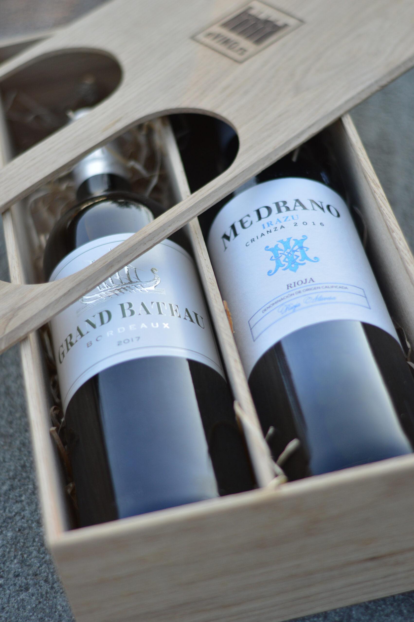 poklon pakovanje za vino